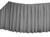 Linen Table Skirt - Silver (3 sizes)