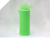 15.24cm x 22.86m Tulle Roll - Apple Green