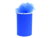 15.24cm x 91.44m Tulle Roll - Royal Blue
