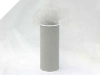 15.24cm x 22.86m Tulle Roll - Silver