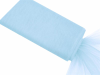 137.16cm x 36.5m Tulle Fabric Bolt - Light Blue