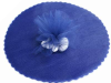 22.86 cm Tulle Circle - Navy Blue/25pk