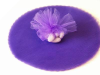 22.86 cm Tulle Circle - Purple/25pk