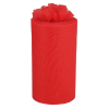 22.86cm x 91.44m Tulle Roll - Red