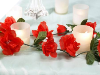 Rose Garland-Red-4pk