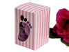 Baby Shower Favour Box Pink -10 Pack