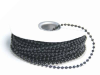 3mm String Beads-Black-21.94m