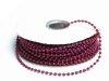 3mm String Beads-Burgundy-21.94m