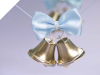 Silver Wedding Bells-24/pk