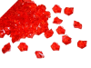 Acrylic Ice - Red - 300pcs