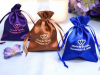Personalized Satin 7.62 cm x 10.16 cm Bags- 100 Count