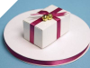 0.95 cm Satin Ribbon-Burgundy