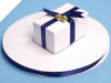 0.95 cm Satin Ribbon-Navy Blue
