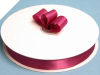 2.22 cm Satin Ribbon-Burgundy
