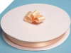 2.22 cm Satin Ribbon-Peach