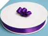 2.22 cm Satin Ribbon-Purple