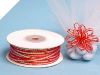 0.31 cm Pull Ribbon-Red