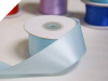 3.81 cm Wired Satin Ribbon - Light Blue