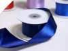 3.81 cm Wired Satin Ribbon - Navy Blue
