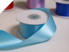 3.81 cm Wired Satin Ribbon - Turquoise