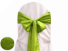 Sage Green Taffeta Crinkle Chair Sash