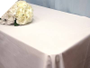 Tablecloth - Rectangle - 127cm x 304.80cm - Black or White