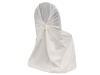 Universal Chair Covers (Polyester) - WHITE
