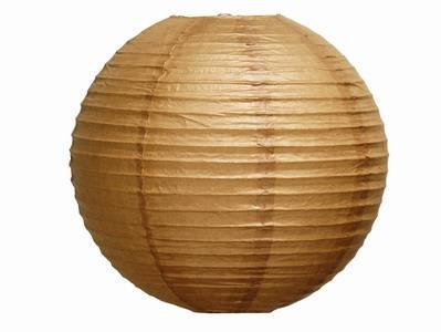 3048 cm paper lantern brown aloadofball Image collections